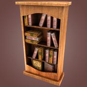 Scaffale per libri 3d model