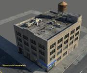 NYC Bank 3d model