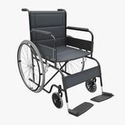 医疗轮椅 3d model