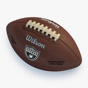 美式足球 3d model