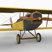 Curtiss JN-4D 3d model
