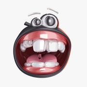 Smile Black 3d model