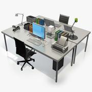 Desk Accessories 3d model