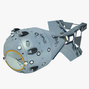 Bombe nucléaire 01 3d model