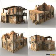 Pack maison afghane 3d model