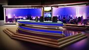 Fernsehnachrichtenraum 3d model