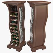 Wine Rack 5 3d model