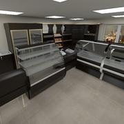 Food Shop 2 3d model
