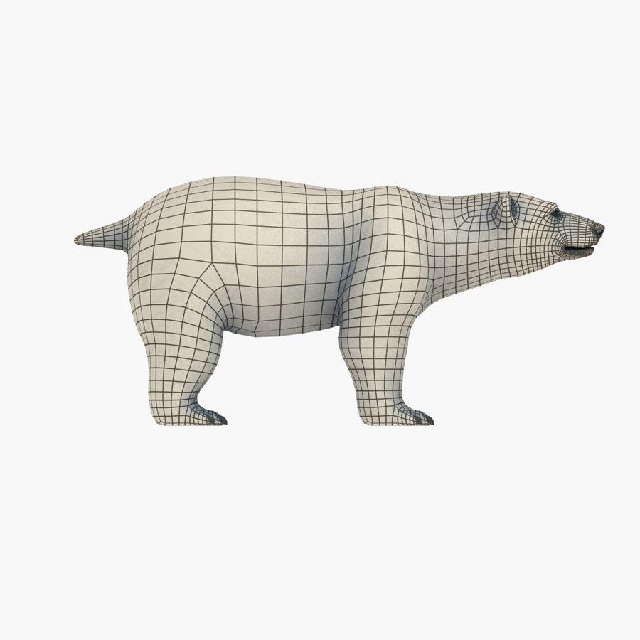 Urso polar royalty-free 3d model - Preview no. 9