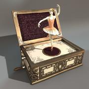 AntiqueMusicBox modelo 3d