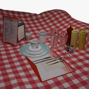 Zestaw naczyń (jadalnia) 3d model