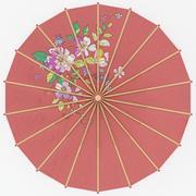 Paraguas japonés modelo 3d