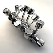 Albero motore V12 3d model