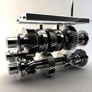 Transmissão manual 3d model