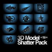 Shatter 모델 팩 3d model