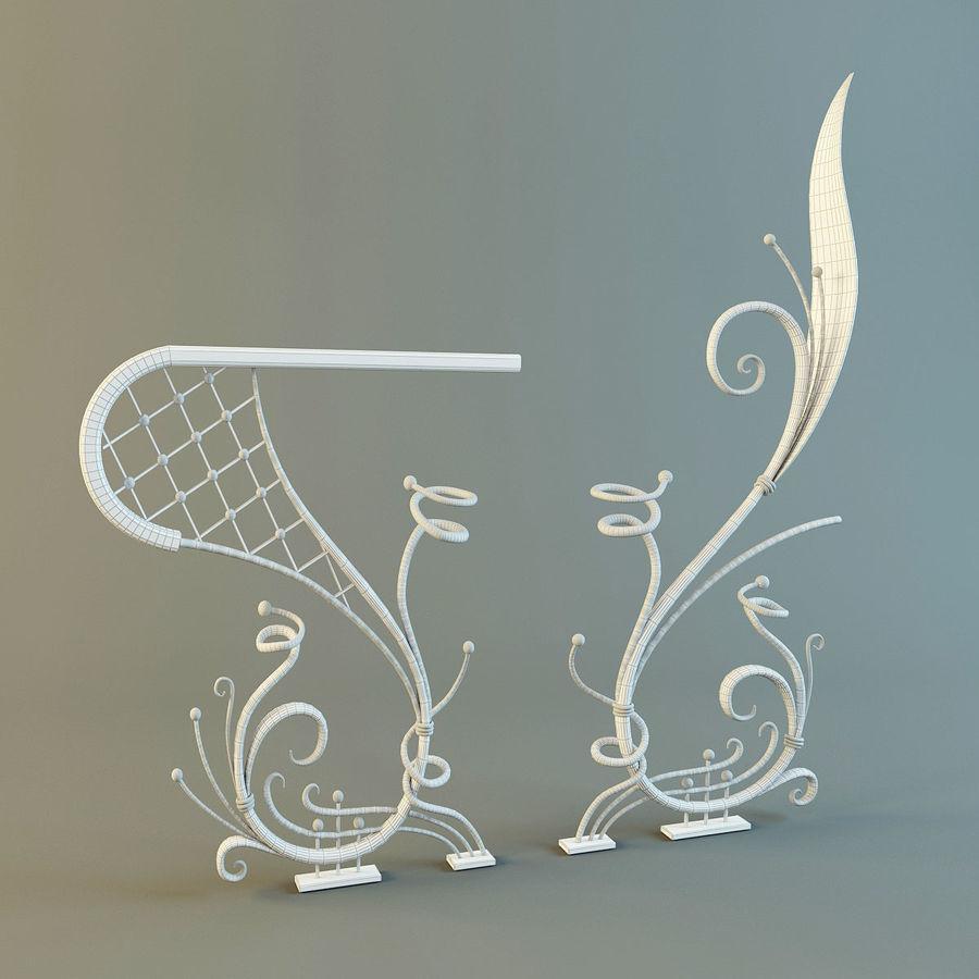 Dövme Dekoratif Eleman royalty-free 3d model - Preview no. 4