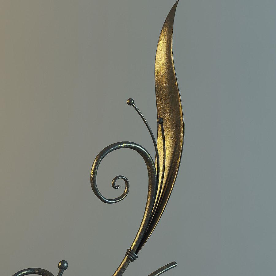 Dövme Dekoratif Eleman royalty-free 3d model - Preview no. 7