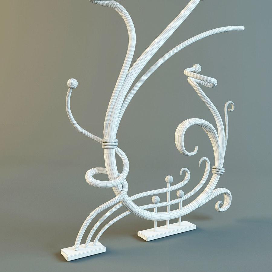 Dövme Dekoratif Eleman royalty-free 3d model - Preview no. 6
