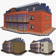 Budynek mieszkalny domu 3d model