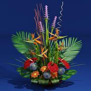 bouquet esotico 3d model