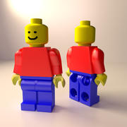 Lego Minifigure 3d model