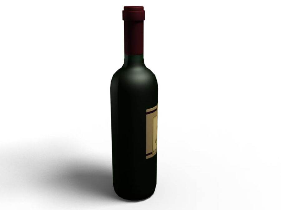 Du vin royalty-free 3d model - Preview no. 4
