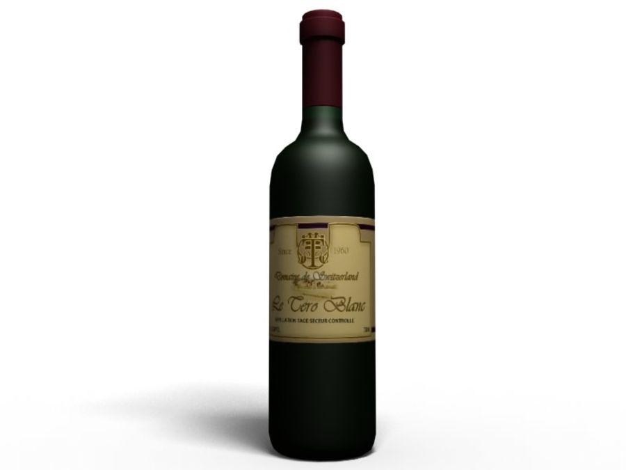 Du vin royalty-free 3d model - Preview no. 2
