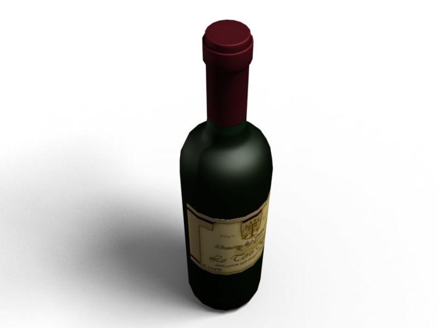 Du vin royalty-free 3d model - Preview no. 3