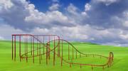 Montanha russa 3d model