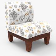 Slipper Chair 3d model