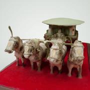 Kinesisk hästvagn 3d model