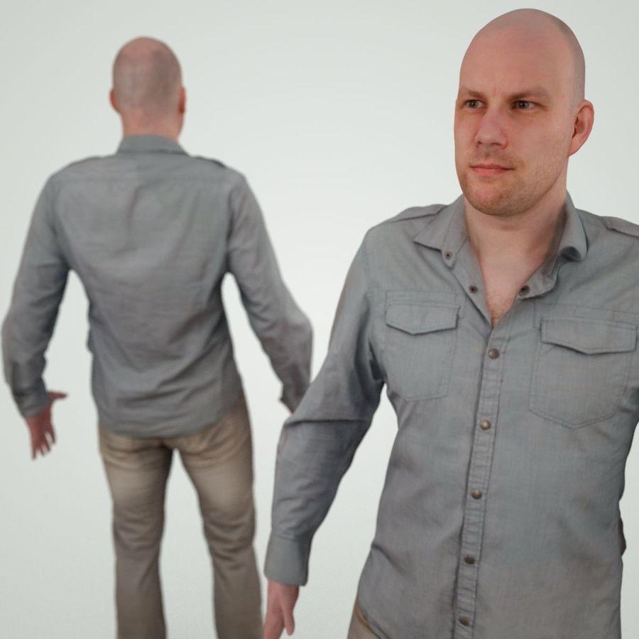 Jeans mit männlichem Charakter royalty-free 3d model - Preview no. 4