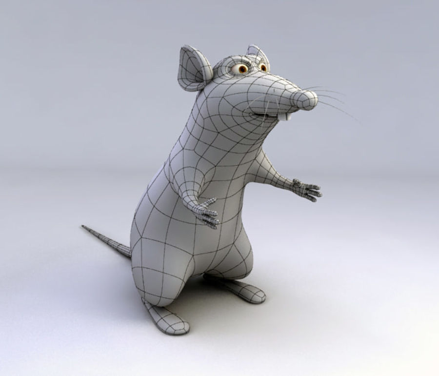 RAT royalty-free 3d model - Preview no. 5