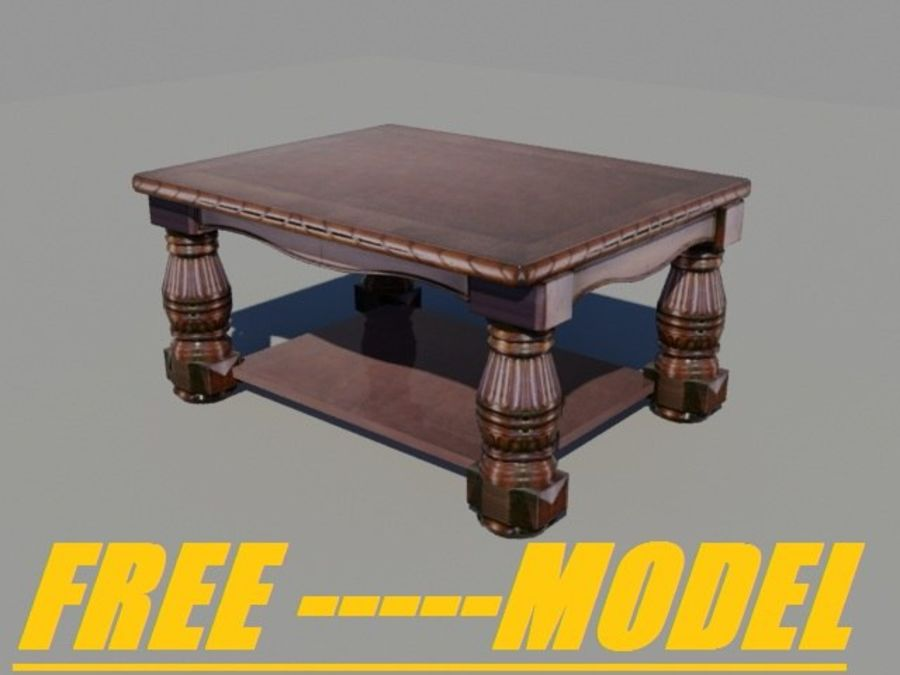 Quarto com modelo EXTRA GRATUITO royalty-free 3d model - Preview no. 9