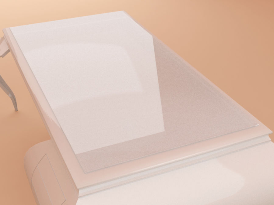 Bureau classique royalty-free 3d model - Preview no. 3