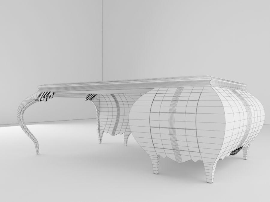 Bureau classique royalty-free 3d model - Preview no. 4