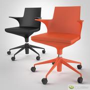 Krzesło Spoon Kartell 3d model