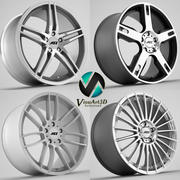 AEZ wheel rims 3d model