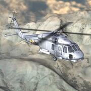 SH60海鹰USN玛雅人 3d model