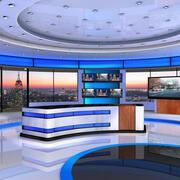 美国VR Studio News 4 3d model