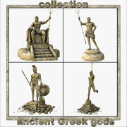 Ancient Greek gods 3d model