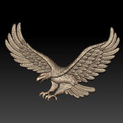 Eagle relief 3d model