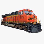 Locomotora GE ES44 modelo 3d