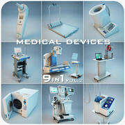 Medical Devices Collection 9 in 1 vol.2 3d model