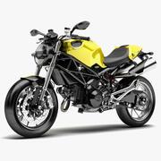 Bike Ducati Monster 1100 3d model