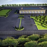 Factory Complex 3d model