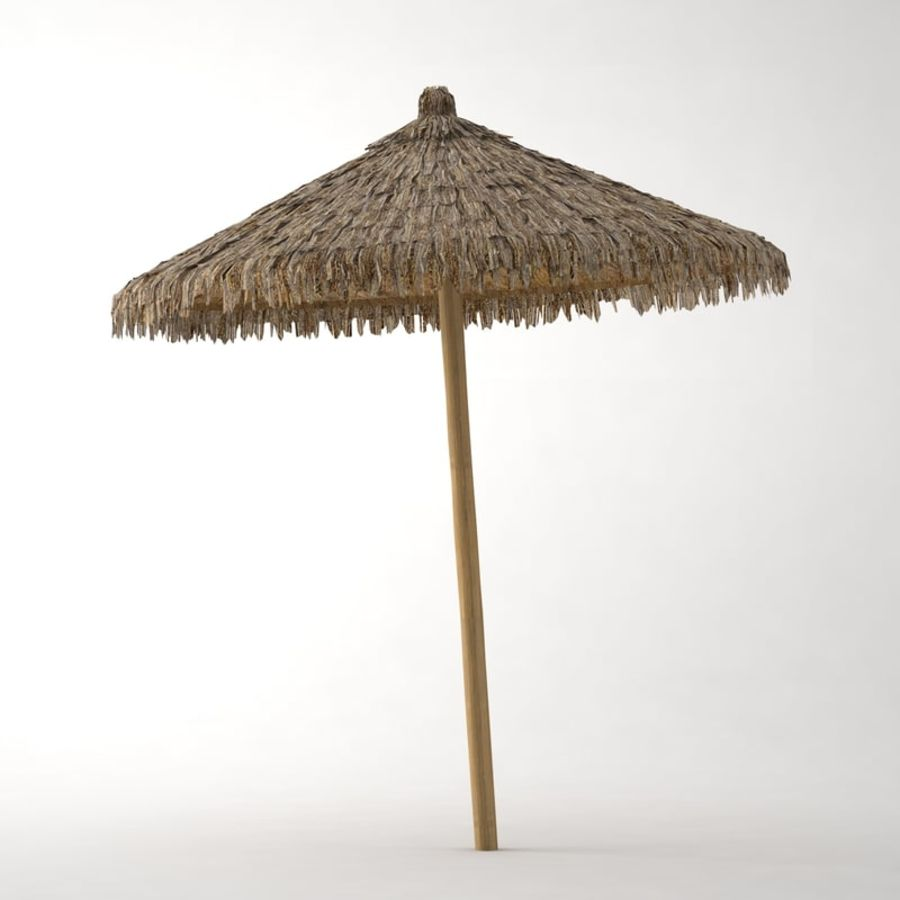 Beach Umbrella royalty-free 3d model - Preview no. 2