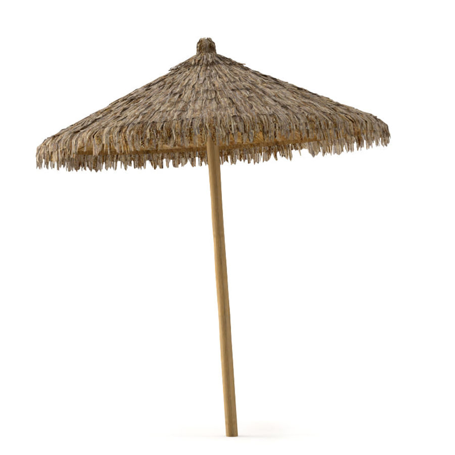Beach Umbrella royalty-free 3d model - Preview no. 1