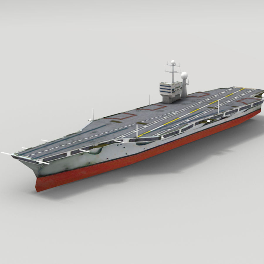 Aircraft carrier 3D Model $19 - .unknown - Free3D