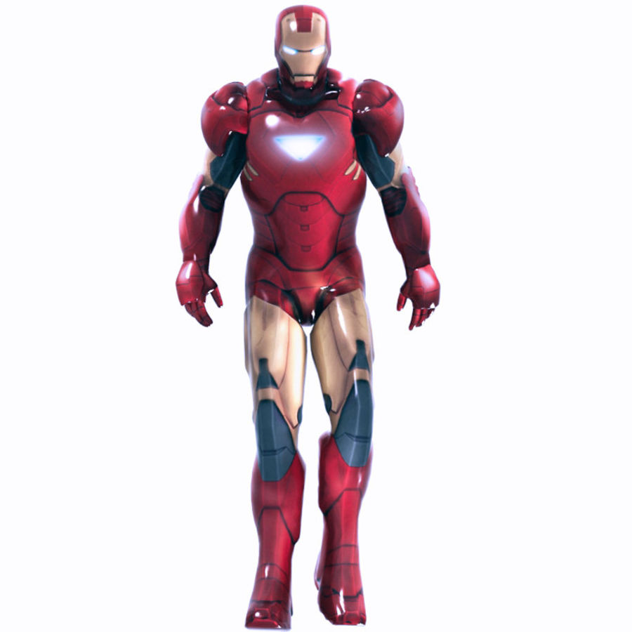 Iron Man royalty-free 3d model - Preview no. 1
